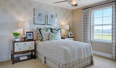 Bedroom in the Hemingway floor plan