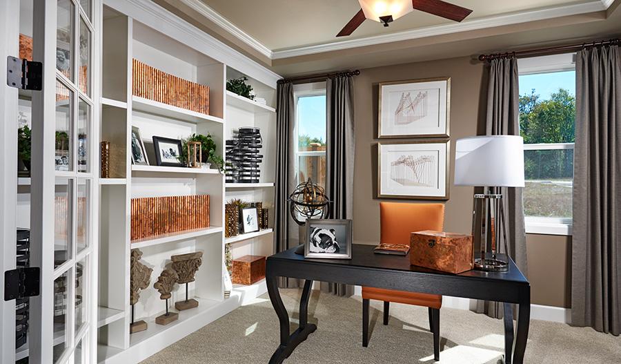 Study in the Hemingway floor plan