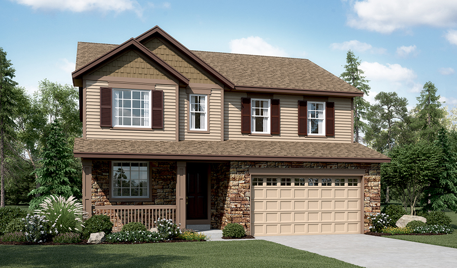 Hemingway floor plan at the villas at blackstone country for Richmond house plan
