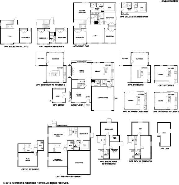 The Hemingway Floor Plan