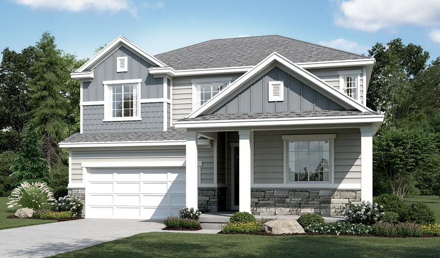 Exterior G of the Hopewell floor plan