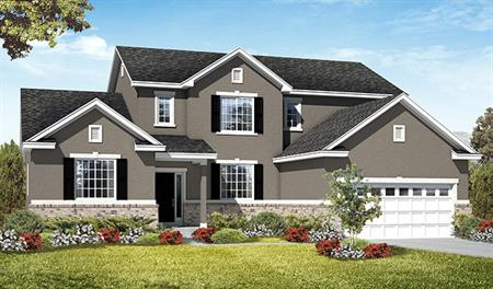 Exterior A of the Jessica floor plan in the Royal Farms community