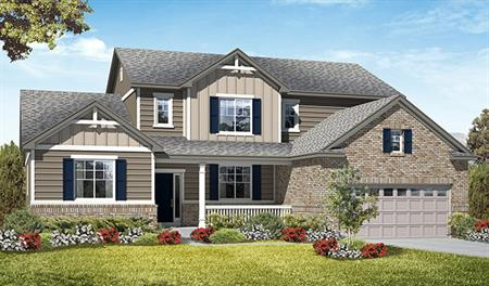Exterior D of the Jessica floor plan in the Royal Farms community