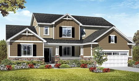 Exterior G of the Jessica floor plan in the Royal Farms community