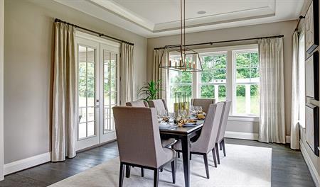 Dining room of the Jonathon floor plan