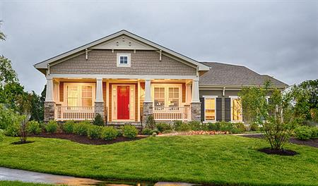 New homes in aldie va home builders in the grove at for Modern homes northern virginia