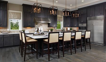 Kitchen of the Jonathon floor plan