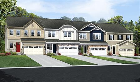 Exteriors of the Kaleb floor plan