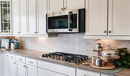 Kitchen of the Keagan floor plan