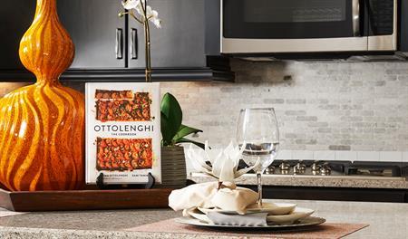Kitchen in the Keagan floor plan