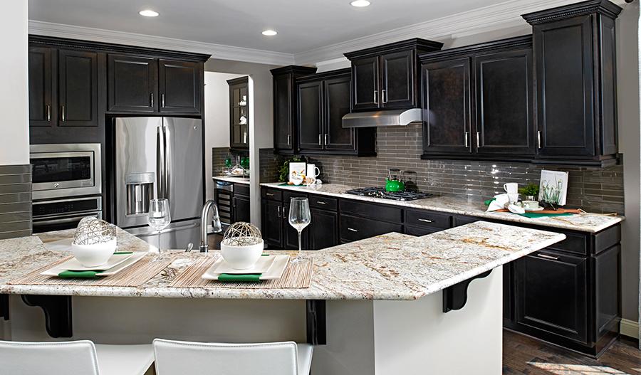 Kitchen in the Kelsey floor plan