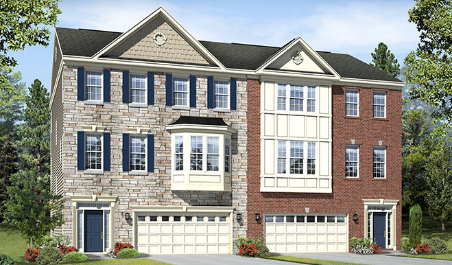 Exteriors E and G of the Kelsey floor plan