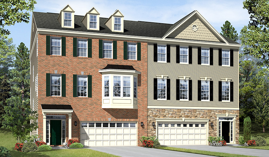 Exteriors F and C of the Kelsey floor plan