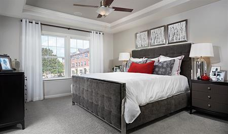 Master bedroom of the Kimberly floor plan