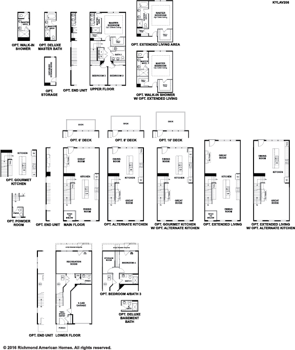 The Kyla floor plan