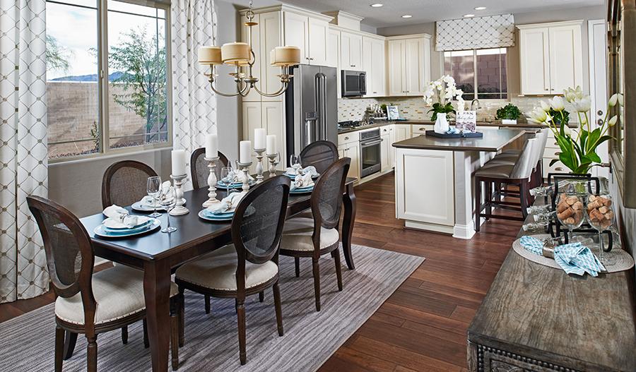 Kitchen/nook of the Lawson/Birch in LV