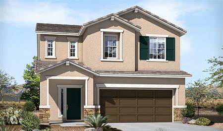 Exterior B of the Lawson floor plan in the Skyline Ridge community