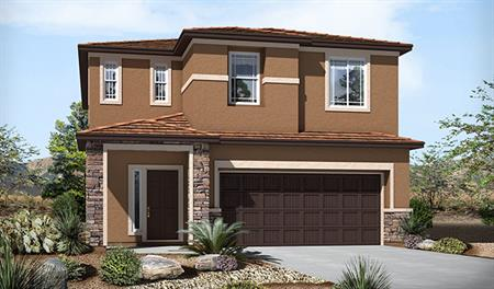 Exterior C of the Lawson floor plan in the River Grove North community