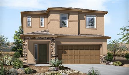 Exterior C of the Lawson floor plan in the Skyline Ridge community