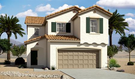 Exterior A of the Layla floor plan in the River Grove North community