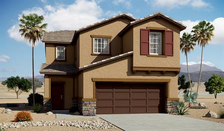 Exterior B of the Layla floor plan in the River Grove North community