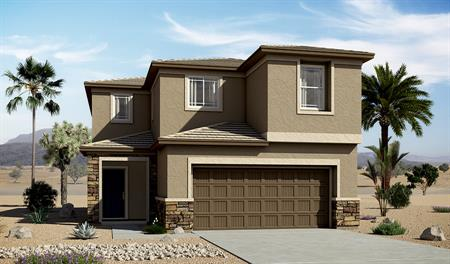 Exterior C of the Layla floor plan in the River Grove North community