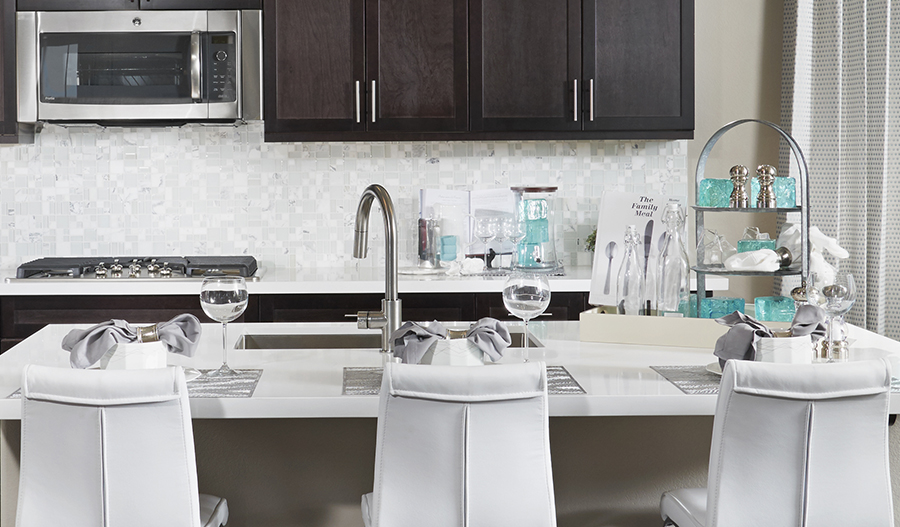 Cityscape series 1 - Beverly-Kitchen-white-blue