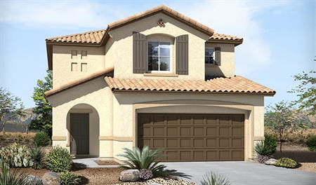 Exterior A of the Lillian floor plan in the Skyline Ridge community