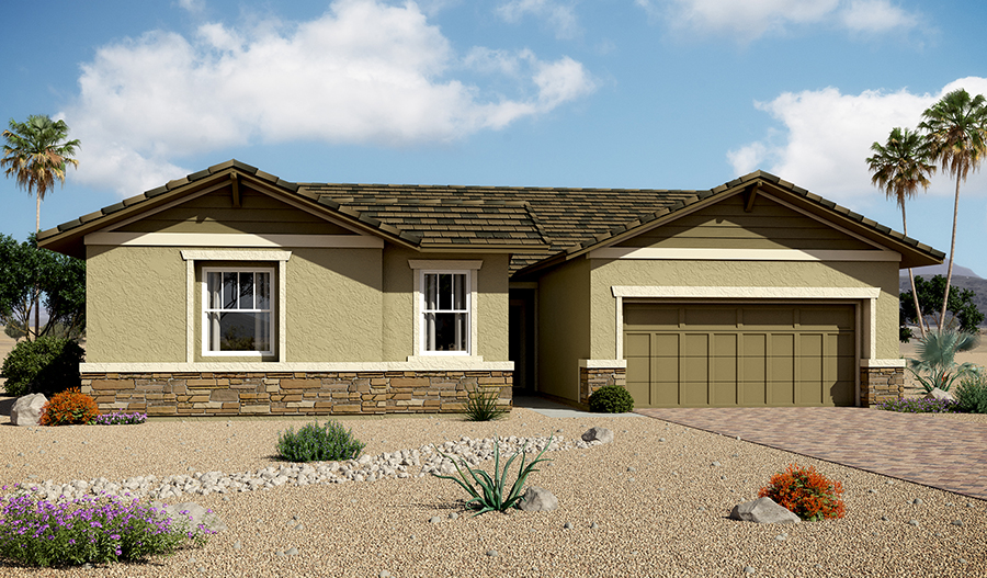 Denise floor plan at encore at cadence richmond american for Richmond homes ranch floor plans