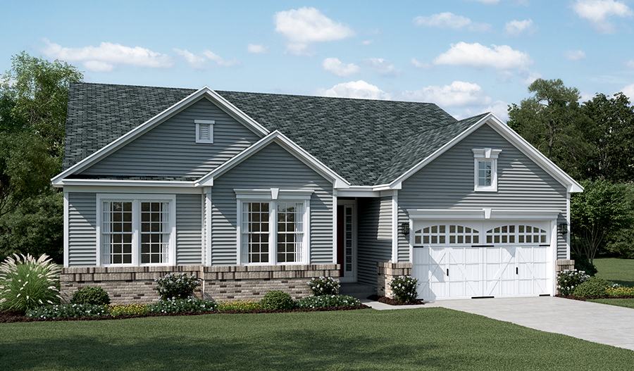 Daniel floor plan at shelton woods for Modern homes northern virginia
