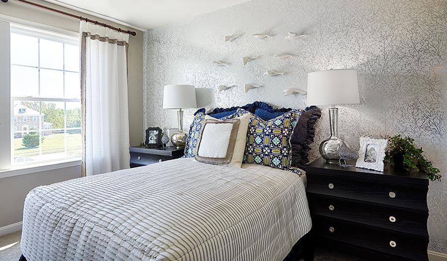 Bedroom in the Hemingway floor plan