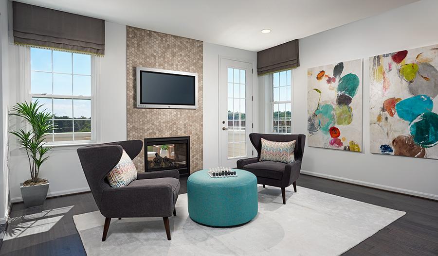 Bonus room of the Kingsley floor plan