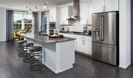 Kitchen of the Kingsley floor plan