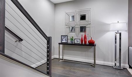 Stairs in the Kinsey floor plan