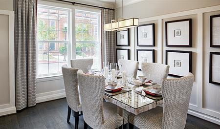 Dining room of the Kinsey floor plan
