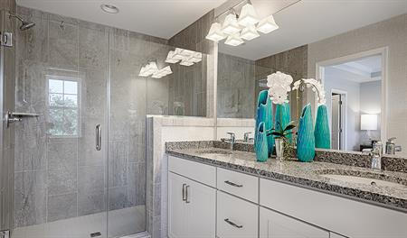 Master bathroom of the Kyla floor plan