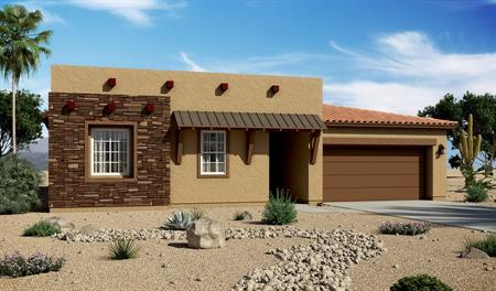 Exterior C of the Daniel floor plan in the Santa Cruz Meadows community