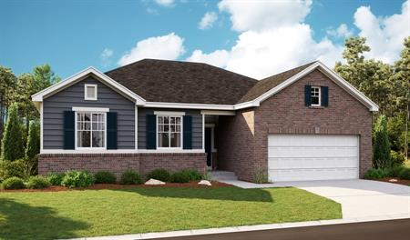 Exterior D of the Bryce floor plan in the Newman Ranch community