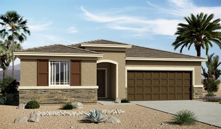 Exterior C of the Stephen floor plan in the Edgefield community