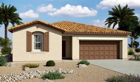 Exterior A of the Sarah floor plan in the Edgefield community
