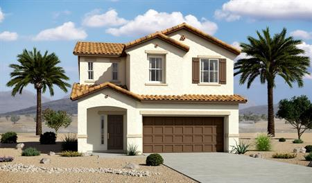 Exterior A of the Lawson floor plan in the Edgefield community