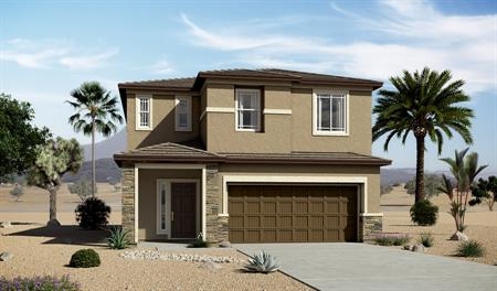 Exterior C of the Lawson floor plan in the Edgefield community