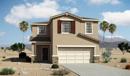 Exterior B of the Madison floor plan in the Edgefield community