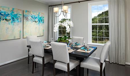 Dining room of the Kyla floor plan