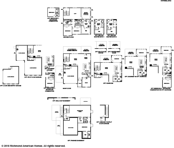 The Hopewell floor plan