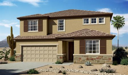 Exterior C of the Hopewell floor plan