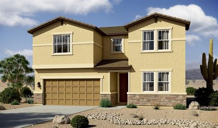 Exterior B of the Coronado floor plan in the Linda Vista Heights community