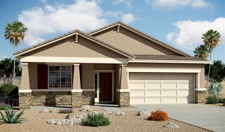 Exterior B of the Anika floor plan in the Centennial Valley community