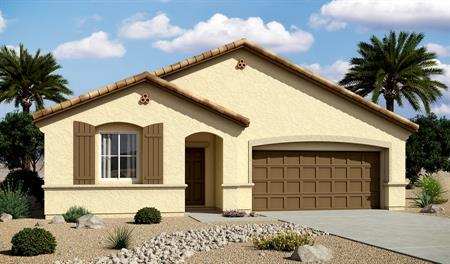 Exterior A of the Arabelle floor plan in the Centennial Valley community