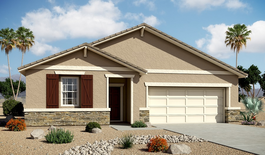 Exterior B of the Arabelle floor plan in the Centennial Valley community